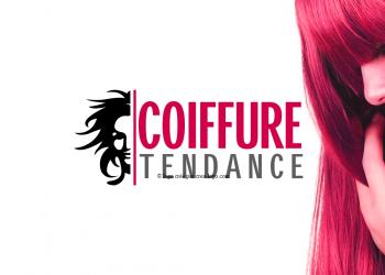 Logo d un salon de coiffure tendance proposition 1