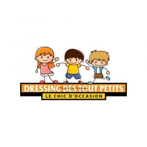 Création logo pour dressing des tout petitss déclinaison 3