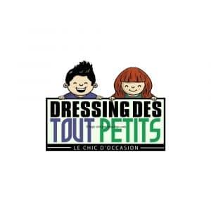 Création logo pour dressing des tout petitss déclinaison 1