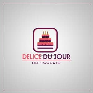 Création logo pour une pâtisserie proposition 3