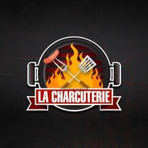 Création logo pour une charcuterie proposition 1