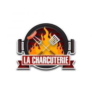 Création logo pour une charcuterie déclinaison 1