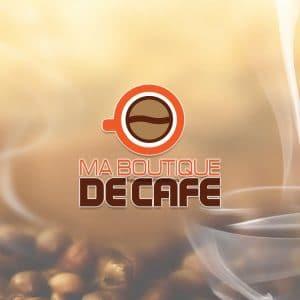 Création logo pour une boutique de café proposition 2