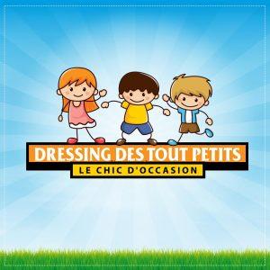 Création logo pour dressing des tout petitss proposition 3