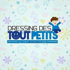 Création logo pour dressing des tout petitss proposition 2