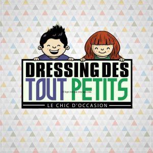 Création logo pour dressing des tout petitss proposition 1