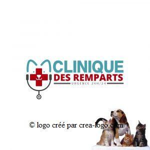 Cette image représente le logo d une clinique veterinaire proposition 3