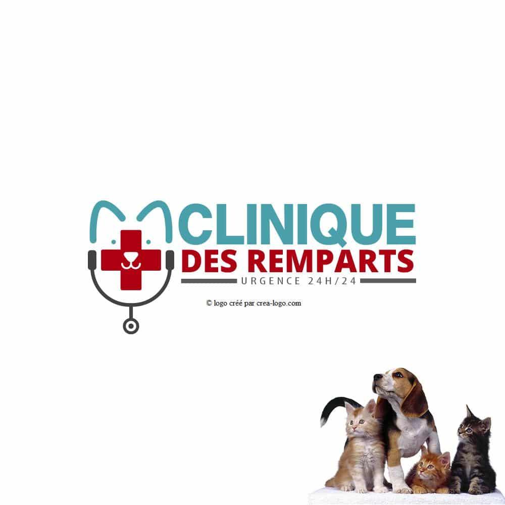 creation logo clinique veterinaire 3 cr ation de logo pas cher et personnalis. Black Bedroom Furniture Sets. Home Design Ideas
