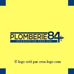 Cette image représente le logo d un plombier proposition 3
