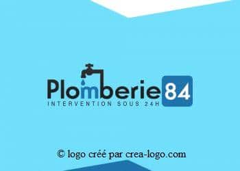 Cette image représente le logo d un plombier proposition 1