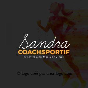 Cette image représente le logo d un coach sportif proposition 2