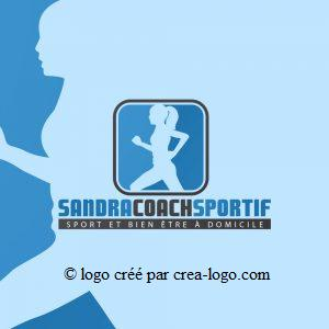 Cette image représente le logo d un coach sportif proposition 1