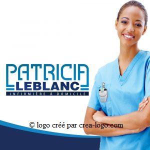 Cette image représente le logo d une infirmiere proposition 2